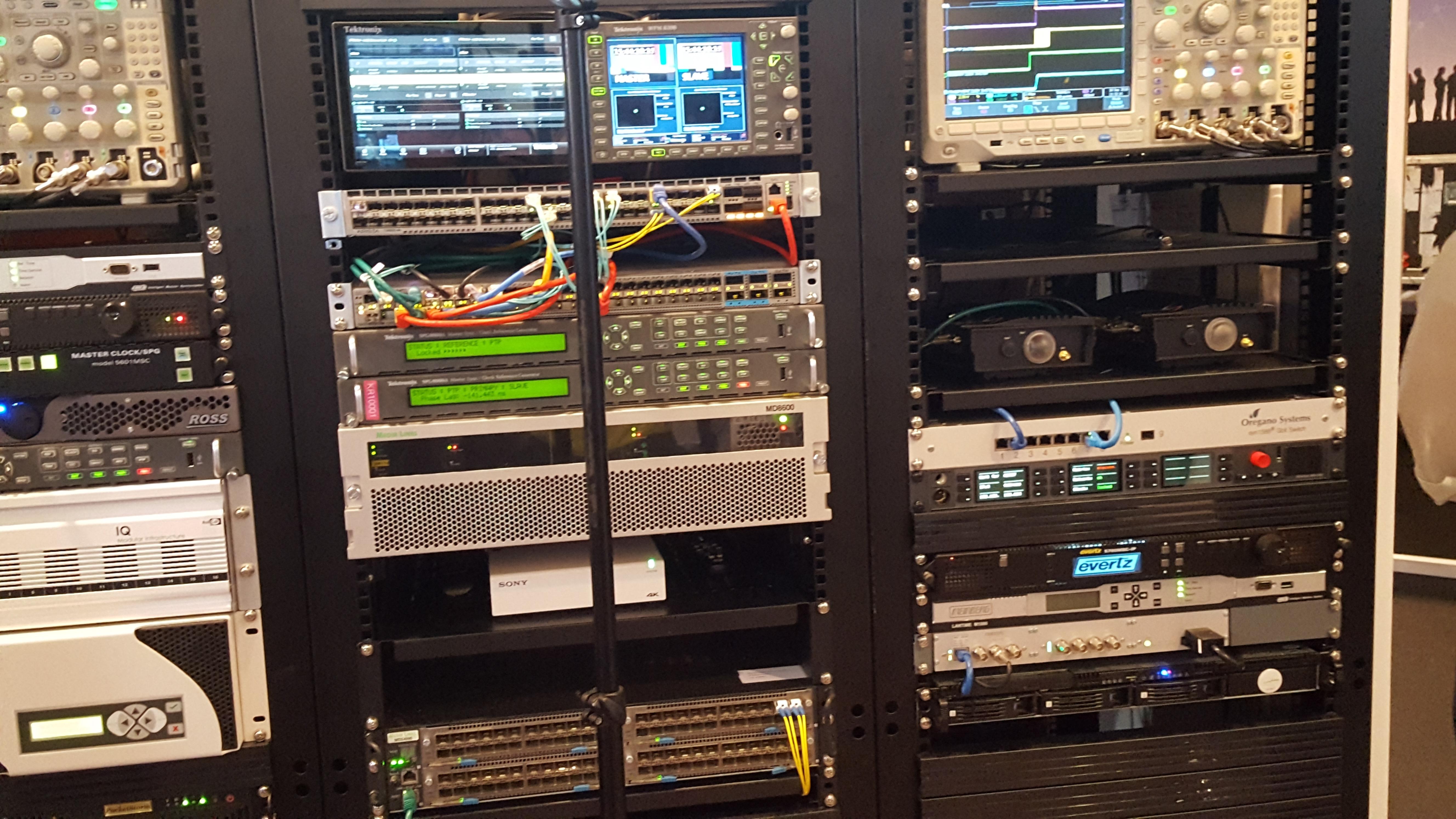 IP 스튜디오 주요 장비